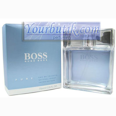 Hugo Boss Pure Men <BR> Eau de Toilette 75ml