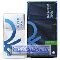 Benetton B-United Jeans Men EDT 100ml