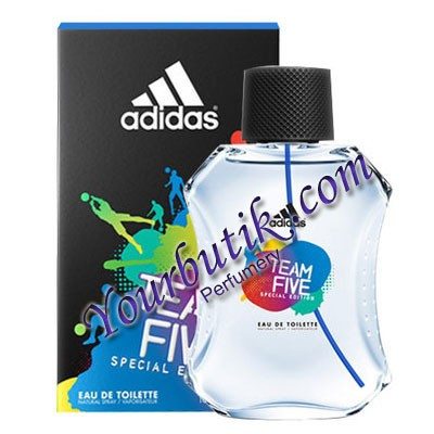 Adidas Team Five For Men EDT 100ml