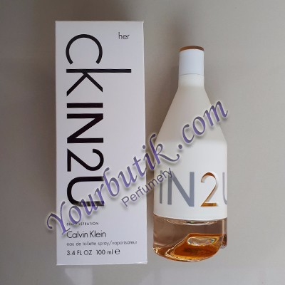Calvin Klein IN 2 U Her Tester EDT 100ml