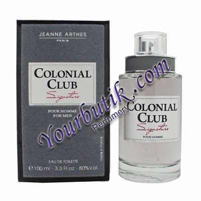 Jeanne Arthes Colonial Club Signature For Men EDT 100ml