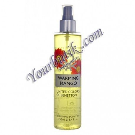 Benetton Warming Mango Refreshing Body Mist 250ml