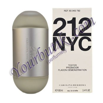 Carolina Herrera 212 Women Tester EDT 100ml