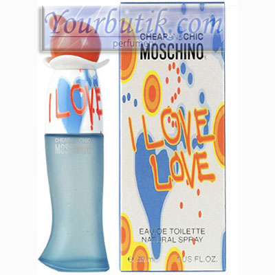 Moschino I Love Love Women <BR>Eau De Toilette 100ml